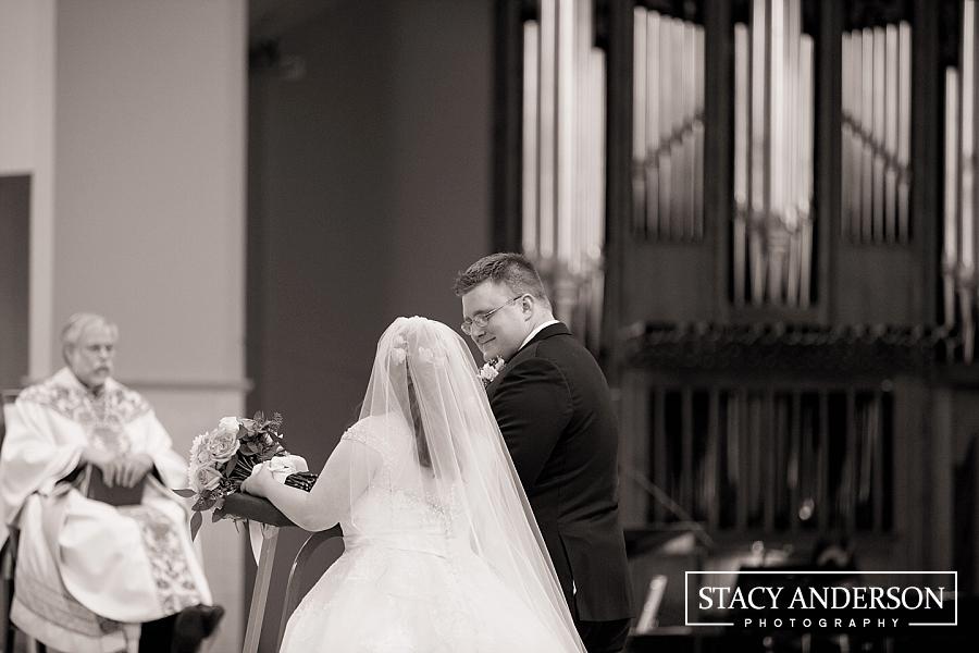 St John Vianney Catholic Church Houston Wedding Photographer (12)