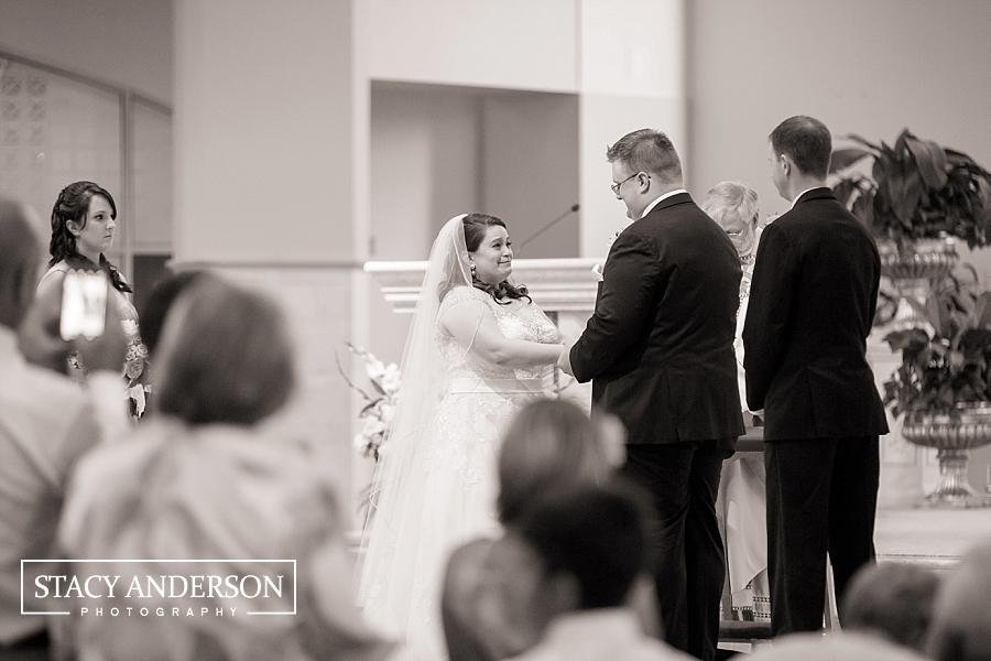 St John Vianney Catholic Church Houston Wedding Photographer (13)