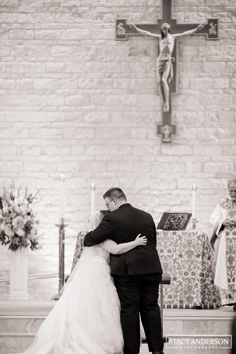 St John Vianney Catholic Church Houston Wedding Photographer (14)