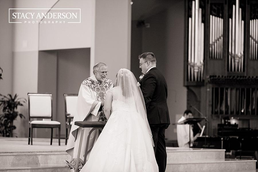 St John Vianney Catholic Church Houston Wedding Photographer (15)