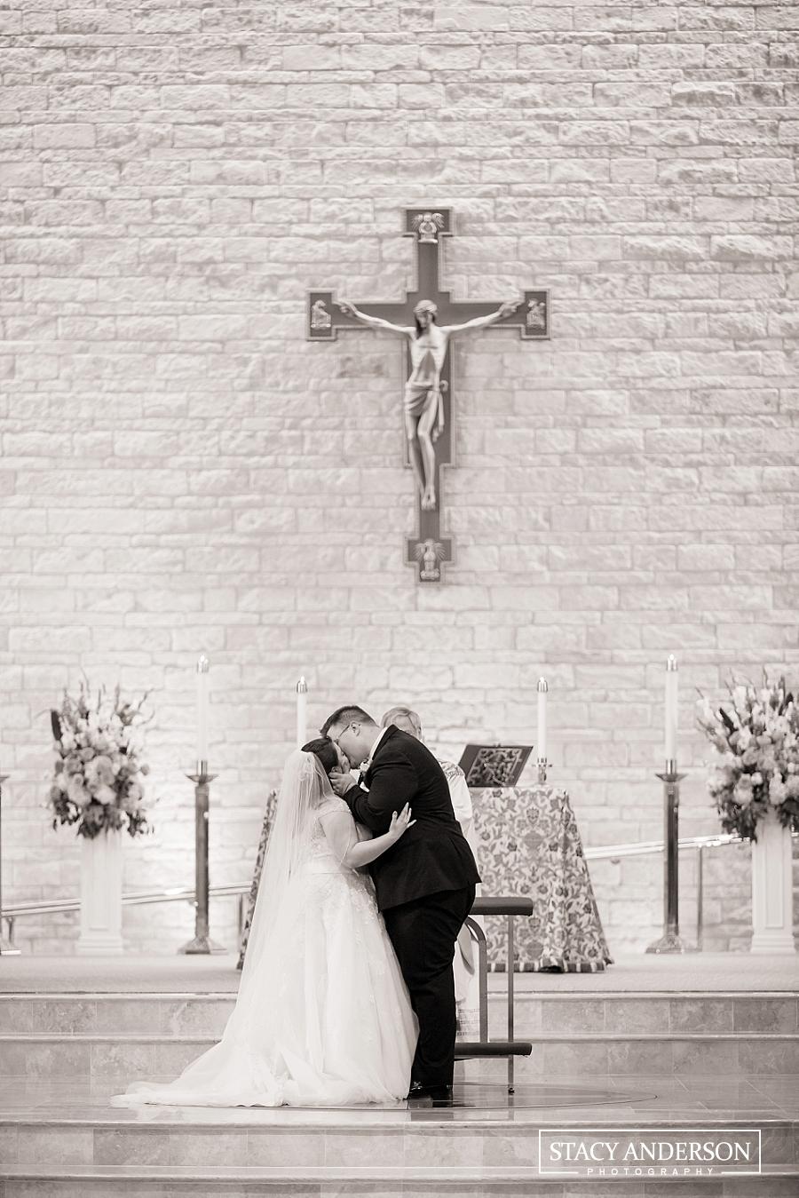 St John Vianney Catholic Church Houston Wedding Photographer (18)