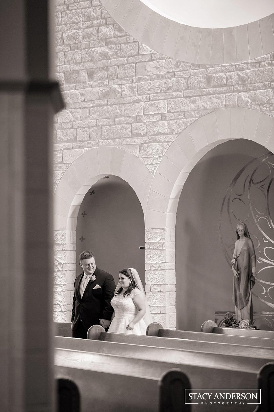 St John Vianney Catholic Church Houston Wedding Photographer (17)