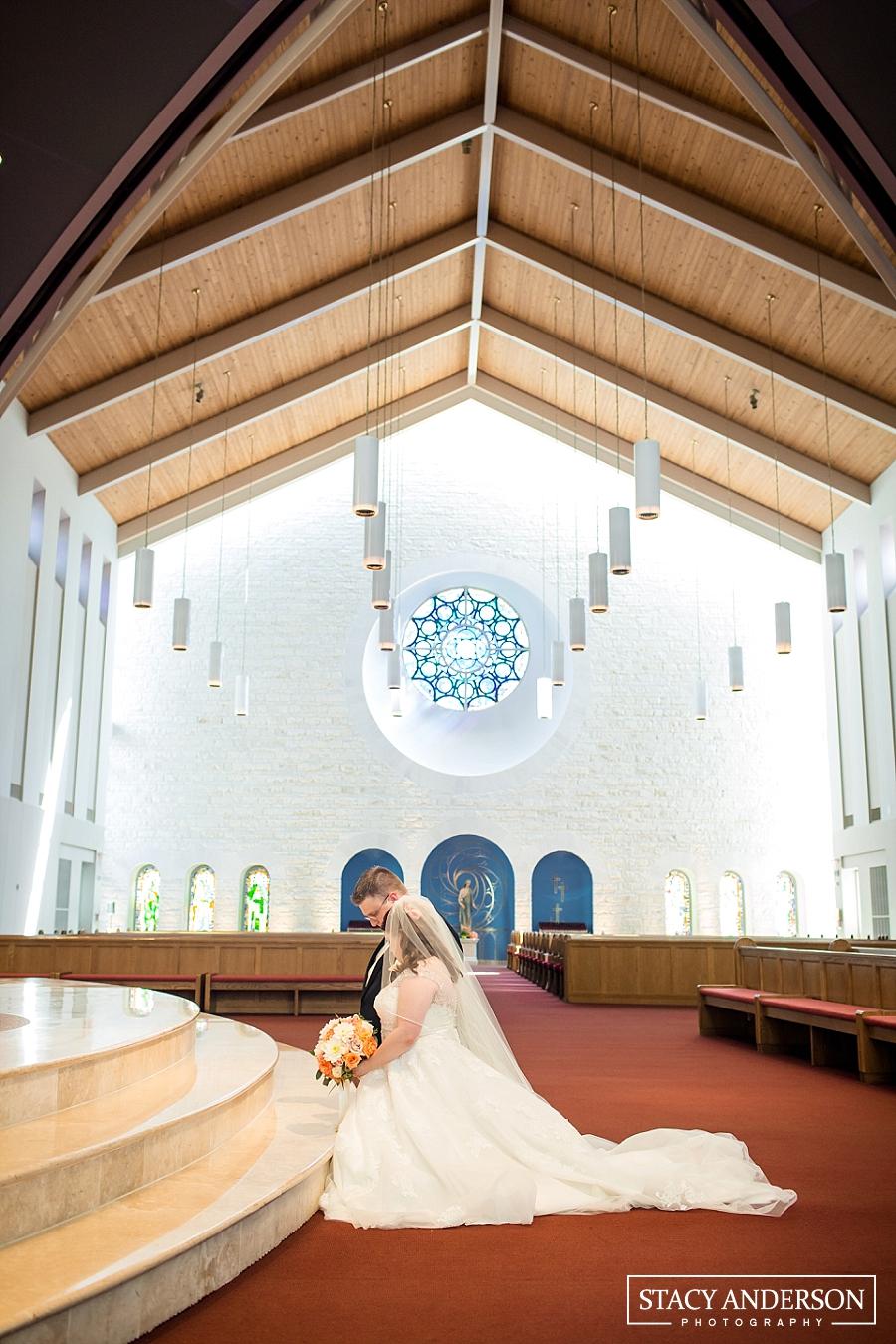 St John Vianney Catholic Church Houston Wedding Photographer (20)