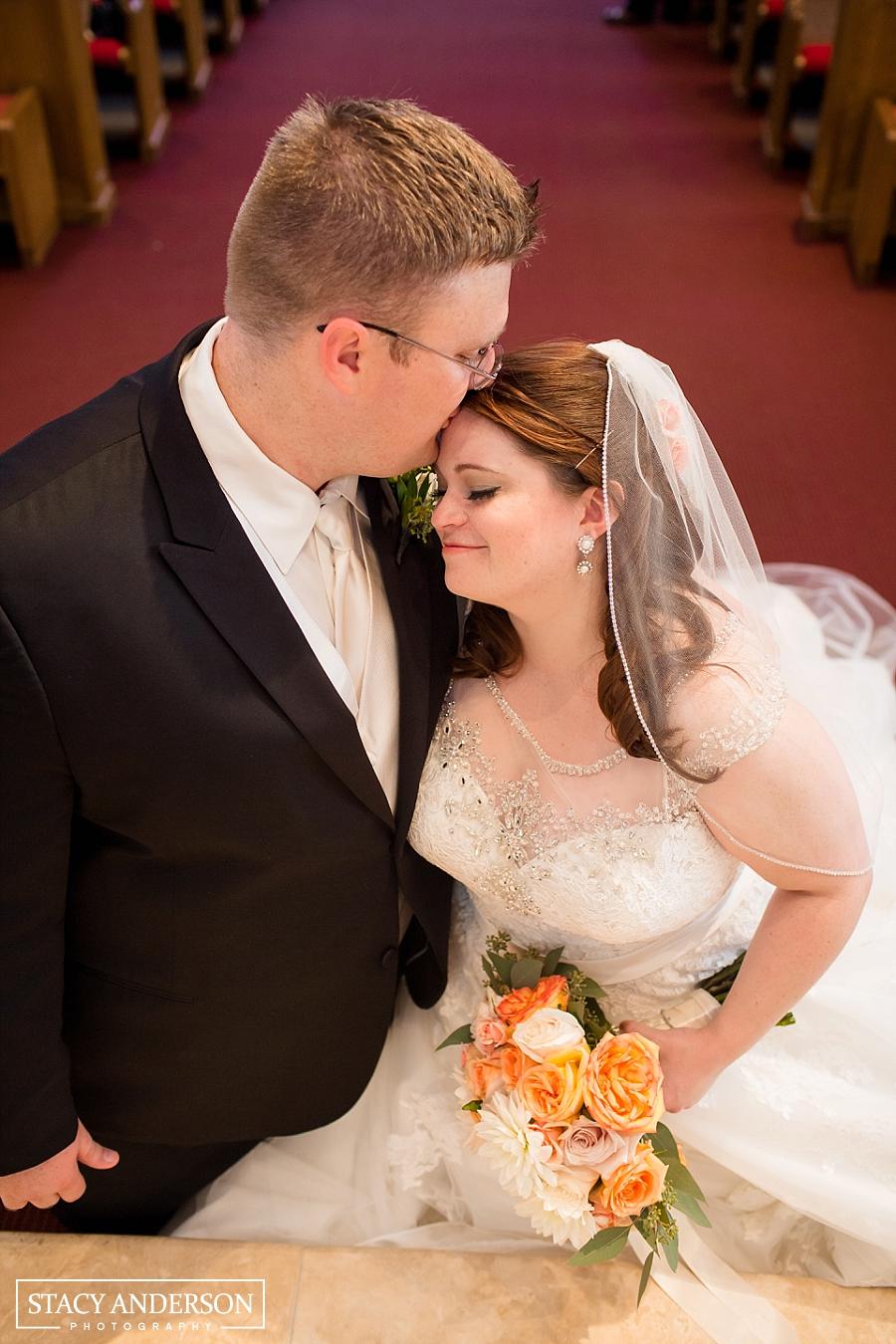 St John Vianney Catholic Church Houston Wedding Photographer (21)