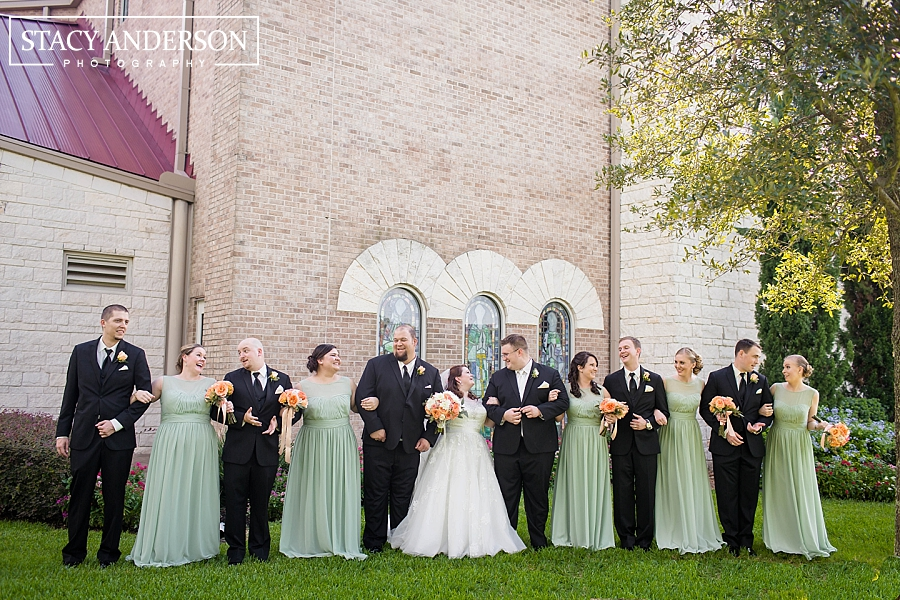 St John Vianney Catholic Church Houston Wedding Photographer (22)