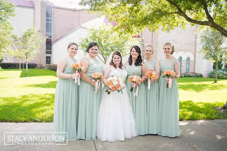 St John Vianney Catholic Church Houston Wedding Photographer (23)