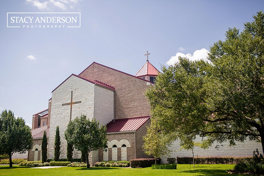 St John Vianney Catholic Church Houston Wedding Photographer (3)