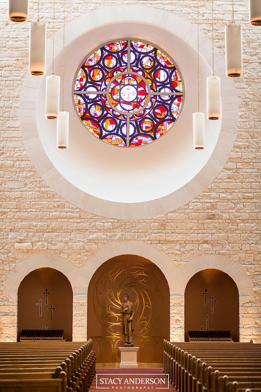 St John Vianney Catholic Church Houston Wedding Photographer (4)