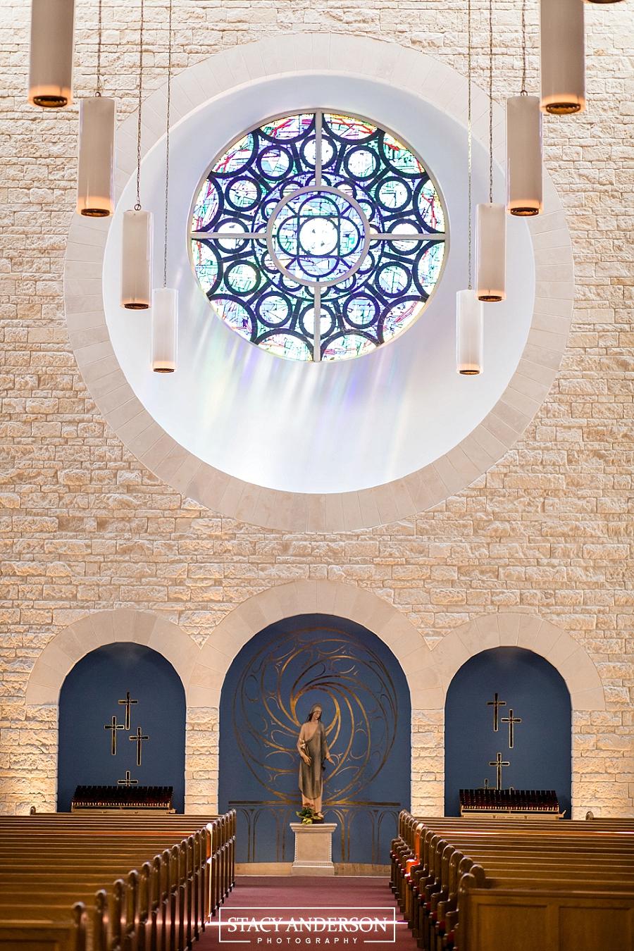St John Vianney Catholic Church Houston Wedding Photographer (5)