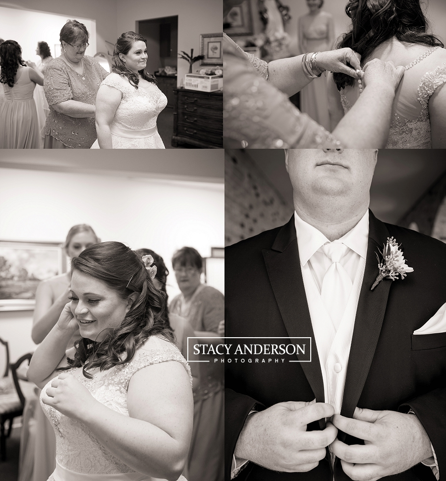 St John Vianney Catholic Church Houston Wedding Photographer (7)