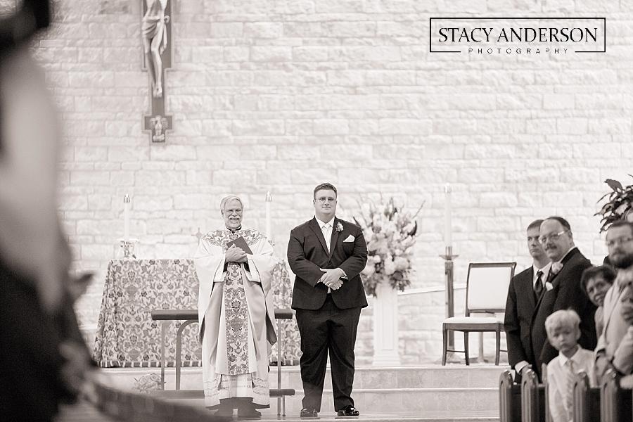 St John Vianney Catholic Church Houston Wedding Photographer (9)