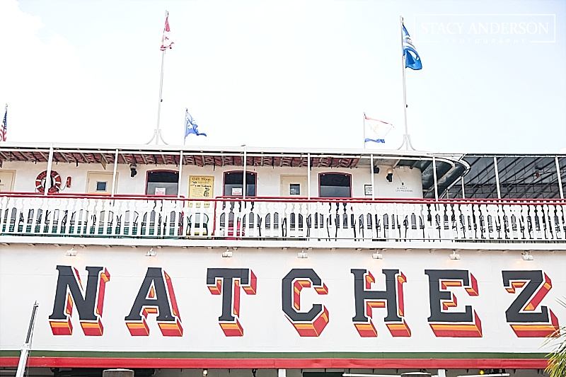 When I saw that we could have brunch on a real, paddle wheel steam boat, I jumped at the chance! How fun!