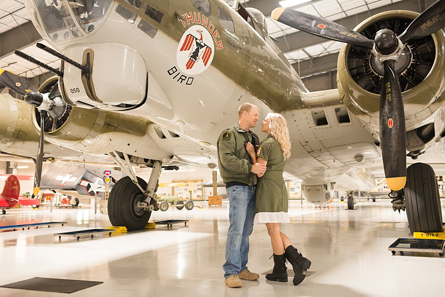 Stacy Anderson Photography Lone Star Flight Museum Engagement Photographer_0008.jpg