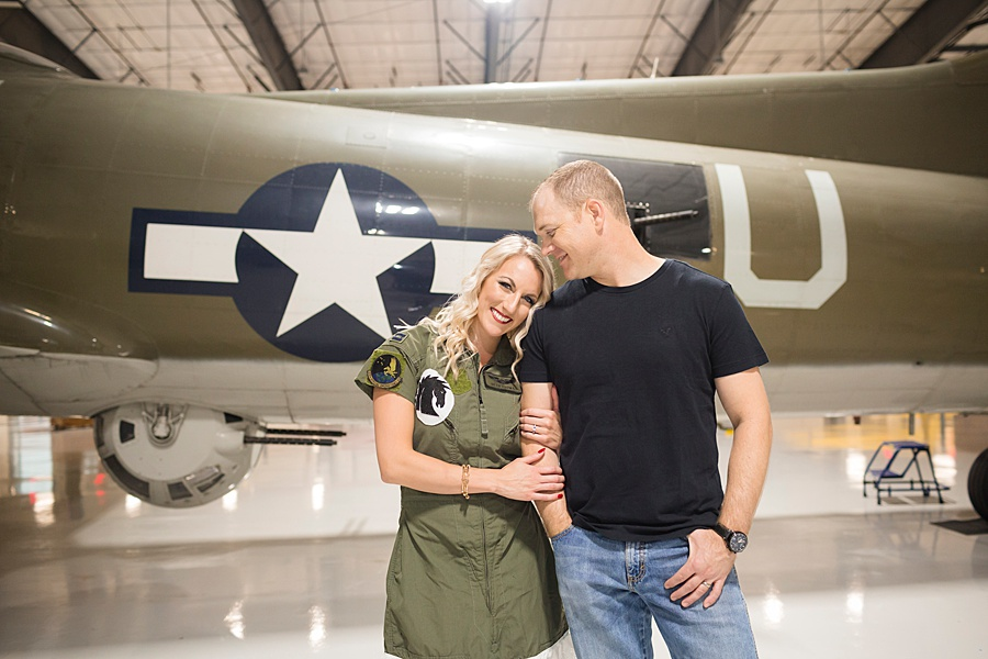 Stacy Anderson Photography Lone Star Flight Museum Engagement Photographer_0012.jpg