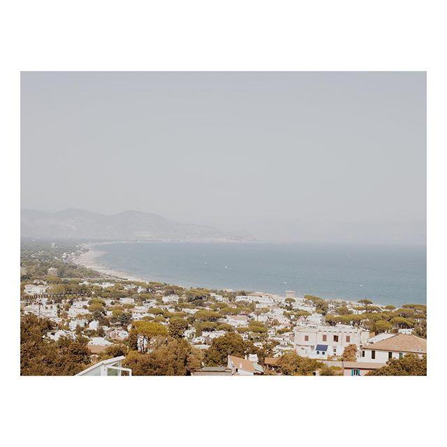 Tyrrhenian Sea views from my walk down from Mount Circeo