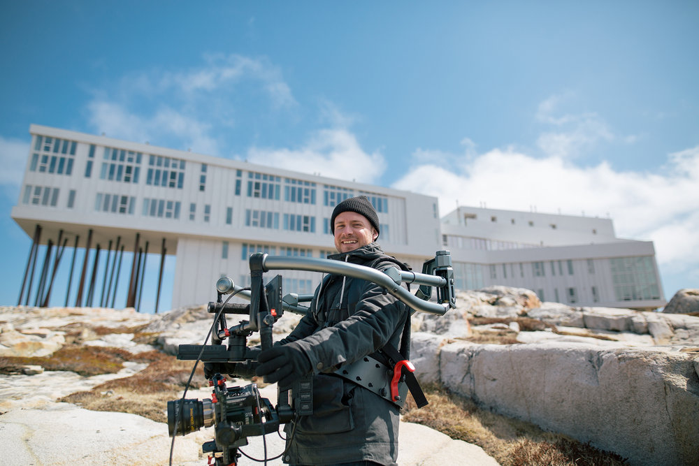 Behind The Scenes - Fogo Island Shoot For Shopify