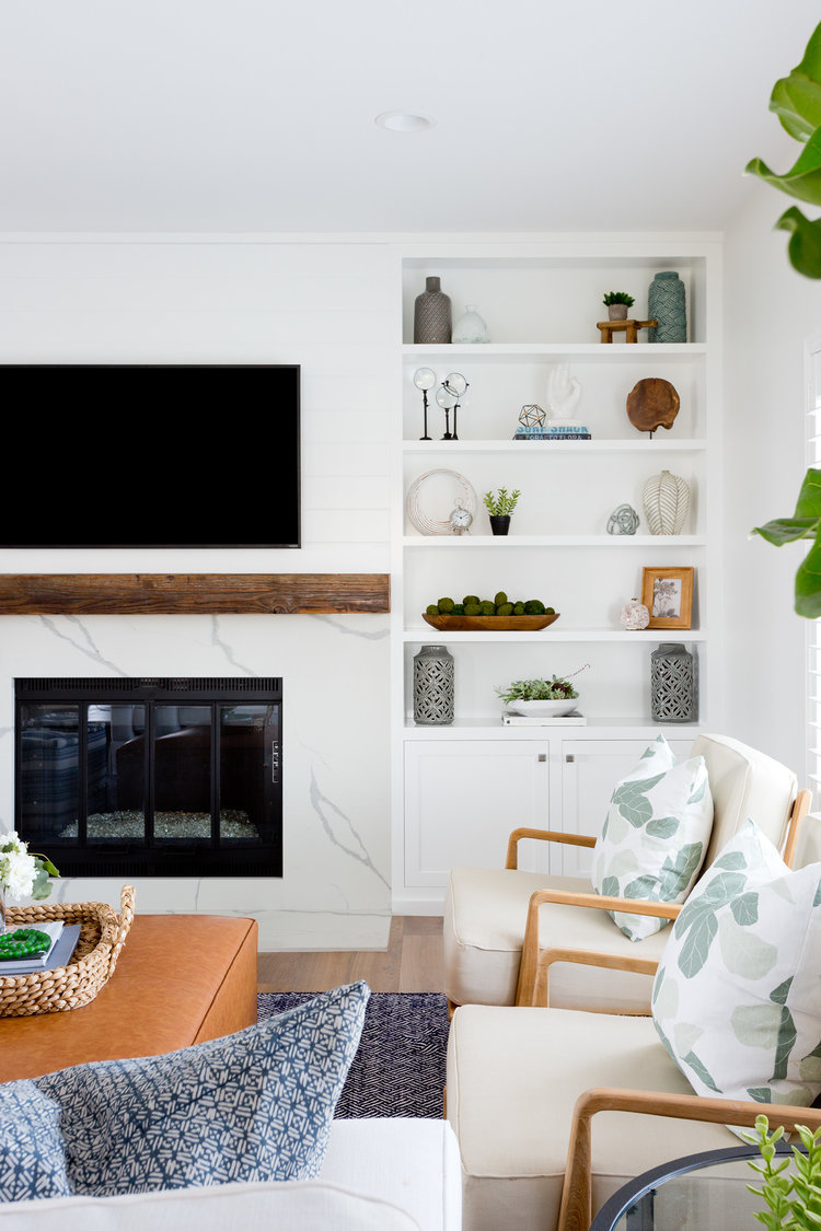 Get the Look Modern Beach Retreat - Lindsey Brooke Design - Southern California Interior Designer.