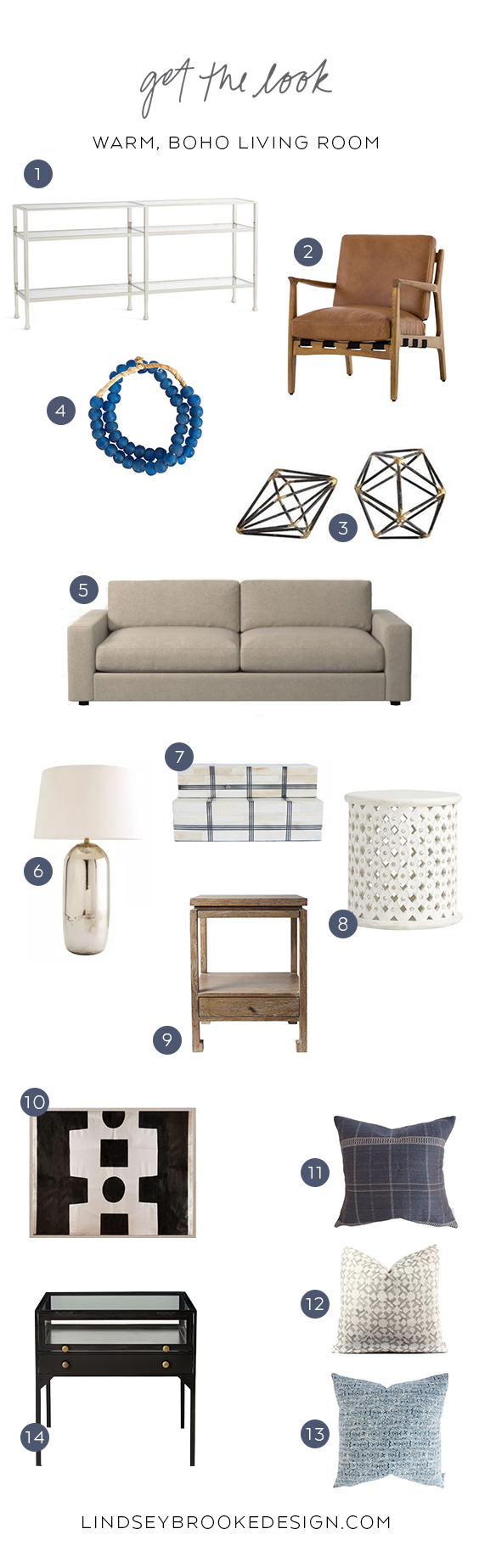 GET THE LOOK: Lake Sherwood Project - warm, boho living room.png