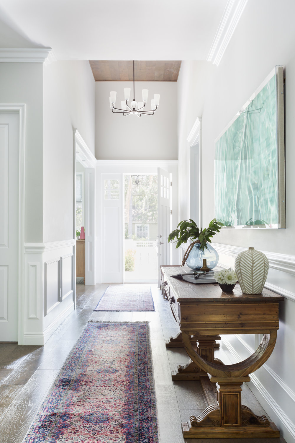 Bright, bold traditional entryway design by Lindsey Brooke Design.jpg.jpg
