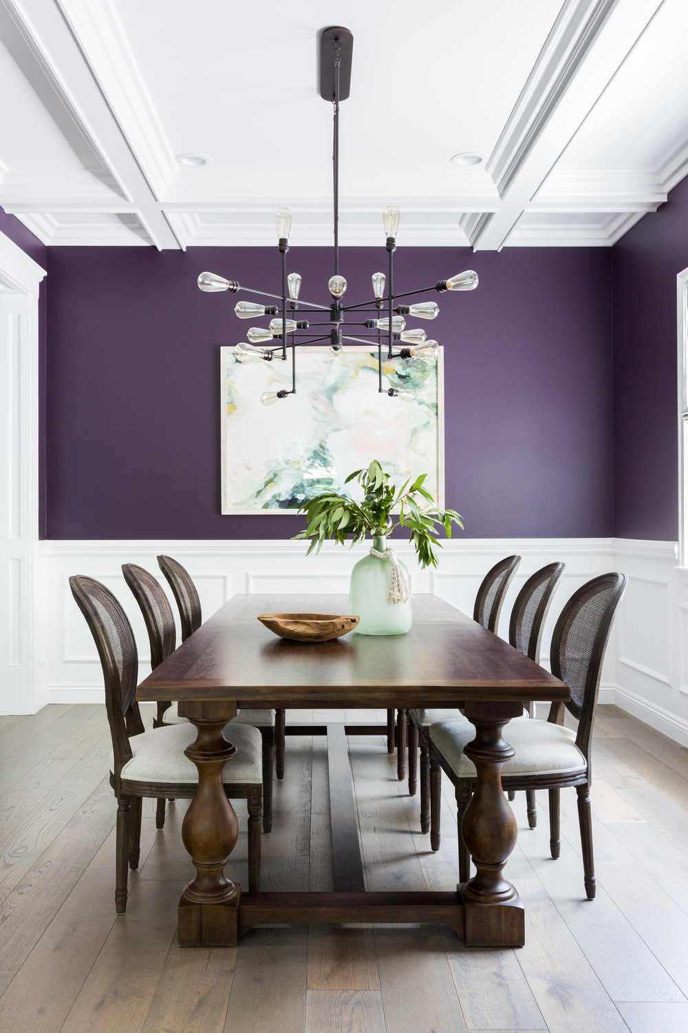Bright, bold traditional dining room design by Lindsey Brooke Design.jpg