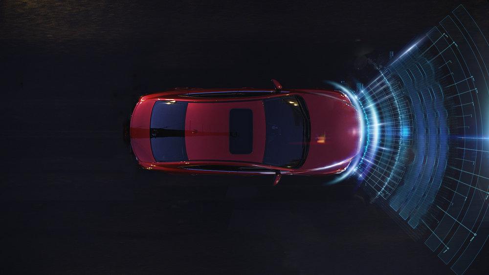 Mazda 6  'Hertz Radar'
