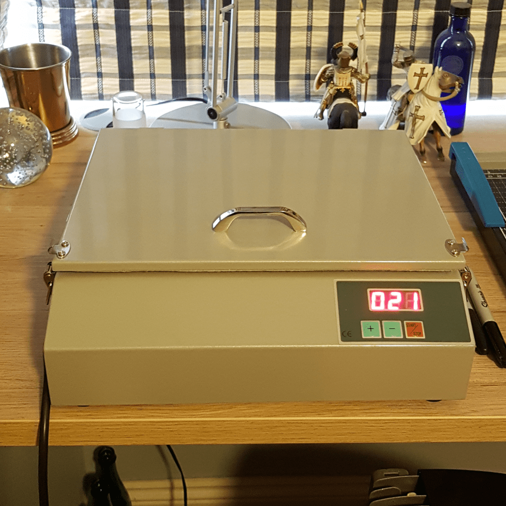 Flatbed UV lightbox with digital timer | Blasted, Sheffield