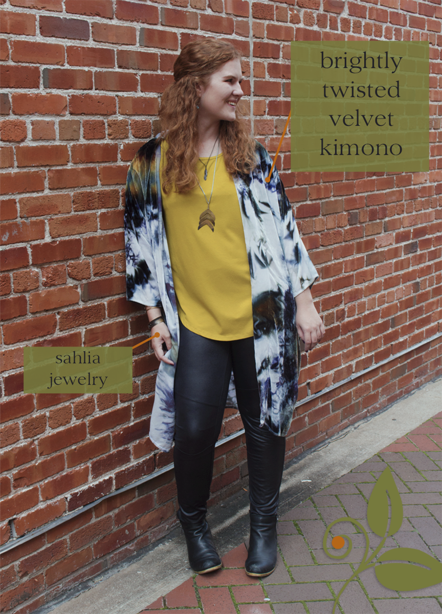 85807e052669 Look of the Week  Tie Dye for Fall — Earthly Delights