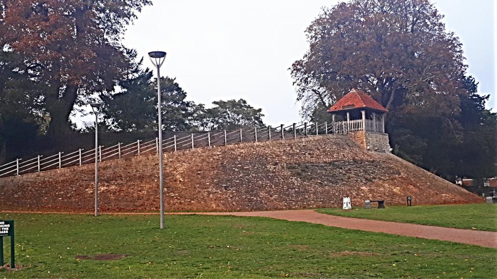 Bedford Castle Mound