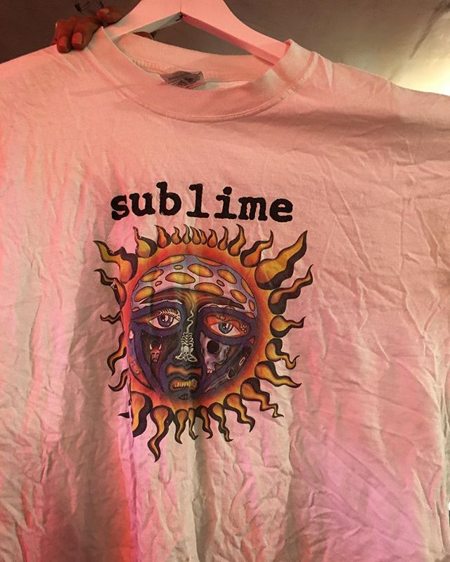 So sick and a classic! Haven't seen one of these in a while.. #sublime #vintage #vintagefashion #vintageclothing
