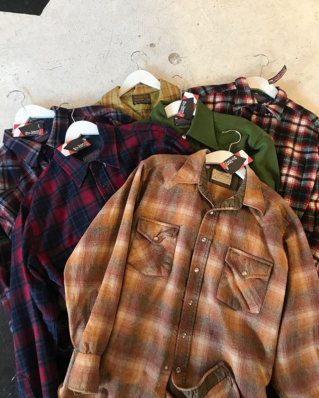 Pendleton Flannels in store for as low as $18!!