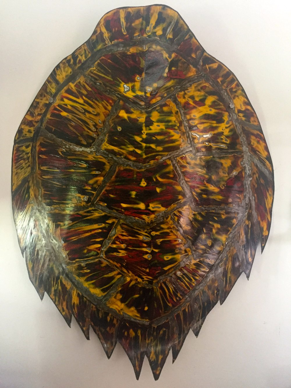 Turtle Shell Nick Holmes Recycled Car Hood