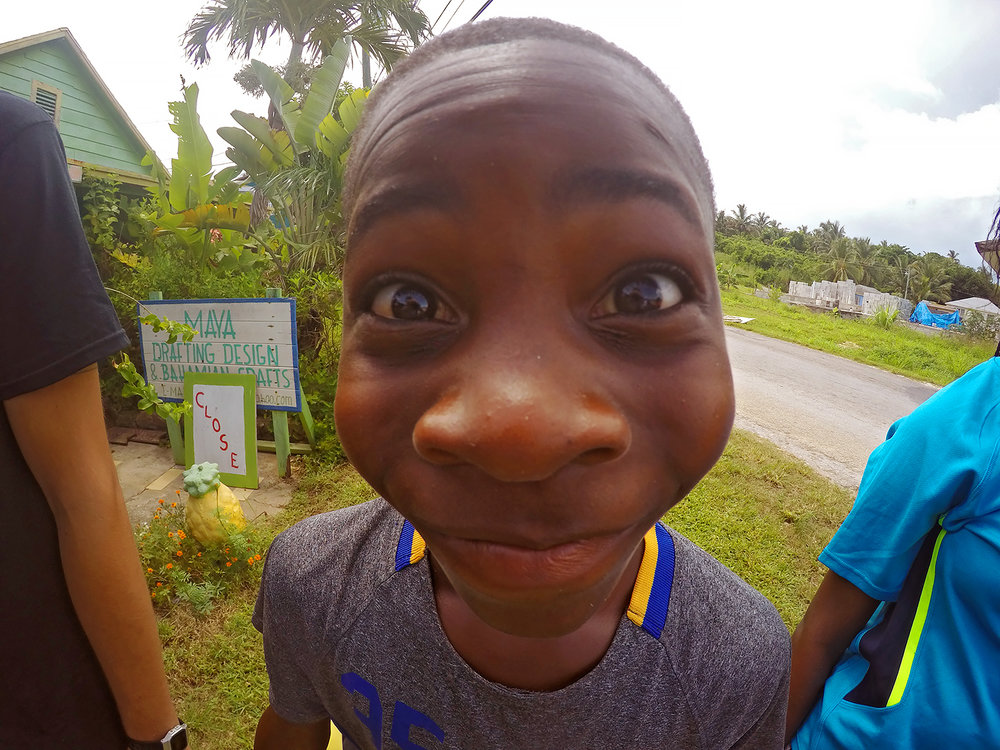 All of our local students were from the small rural communities of Eleuthera