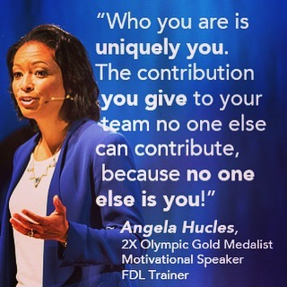 Take it from Angela Hucles, a true Dynamic Leader!! 🙋🏻🙋🏼🙋🏽🙋🏾🙋🏿#FDLprogram #nutrition #health #highschoolsports #youthsports #youthsports #collegesports #sports #leadershipskills #leadership