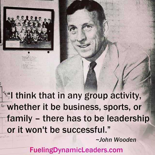 A great quote by one of the greatest coaches ever! #motivationmonday #johnwooden #ucla #leadership #collegesports #highschoolsports