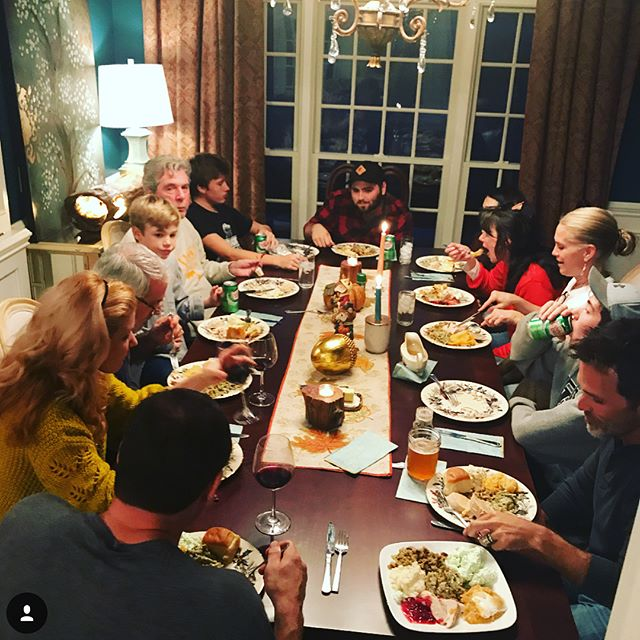 Blessed... with a plateful of grateful stuff...ing. #Family #HappyThanksgiving 🦃🎷🍷🍷🍷🍷❤️