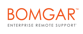 Click on this logo to start the remote support session.  -
