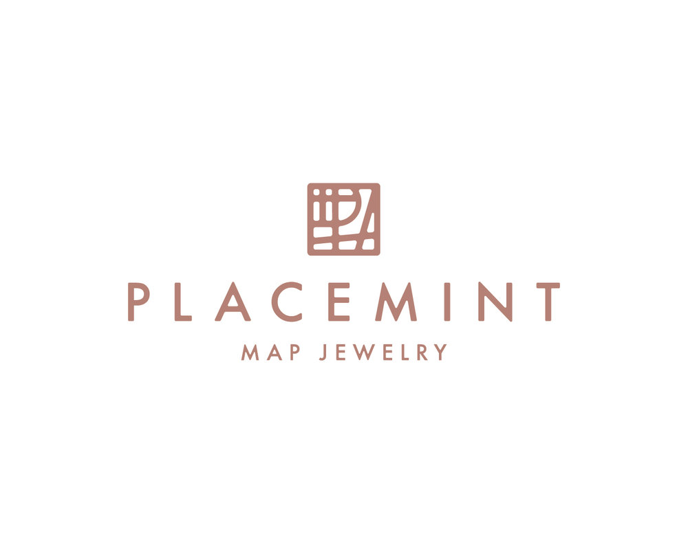 Variable Solution - A complete rebrand of the look and feel + website that allows viewers to understand what Placemint Map Jewelry stands for, what they sell, the emotional connection they want to create, and how to easily navigate through the buying process online.