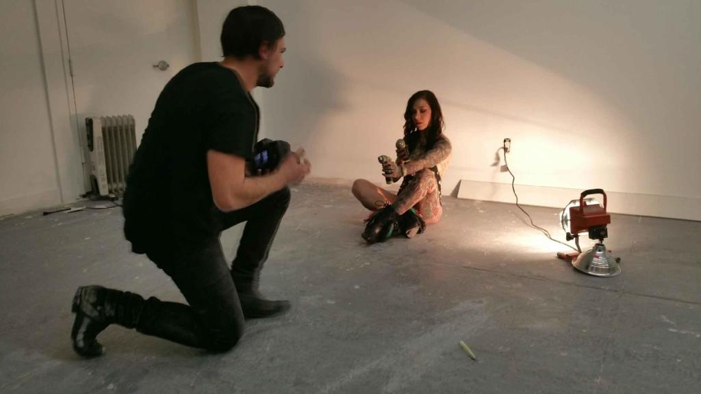 Jordan Adoni at Modern Vice Studios