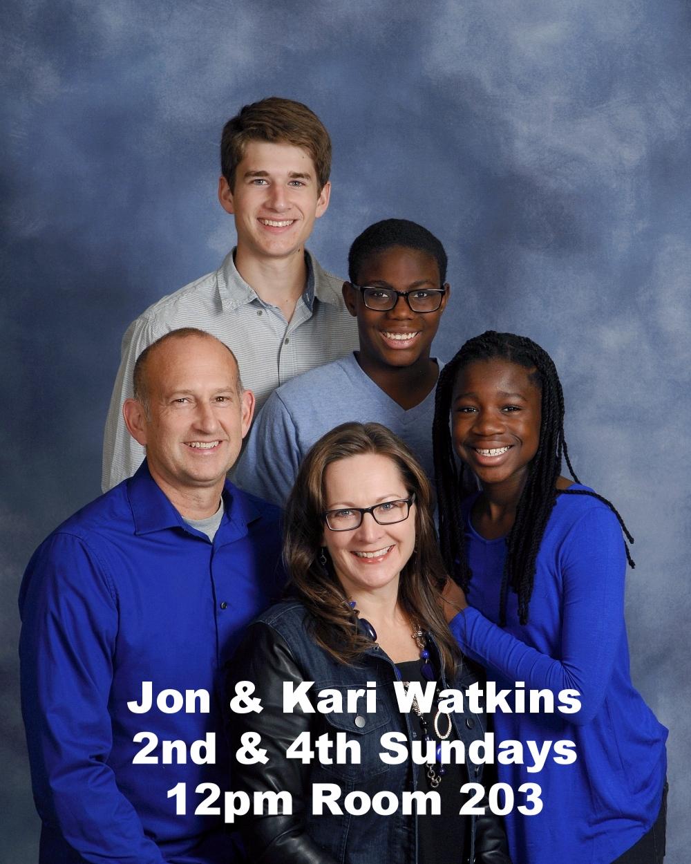 WATKINS, Jon & Kari; Charlie, Tate, Tani.jpg