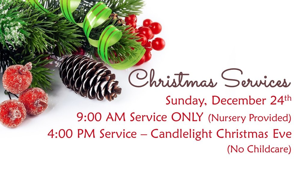 Join us this Christmas Eve...