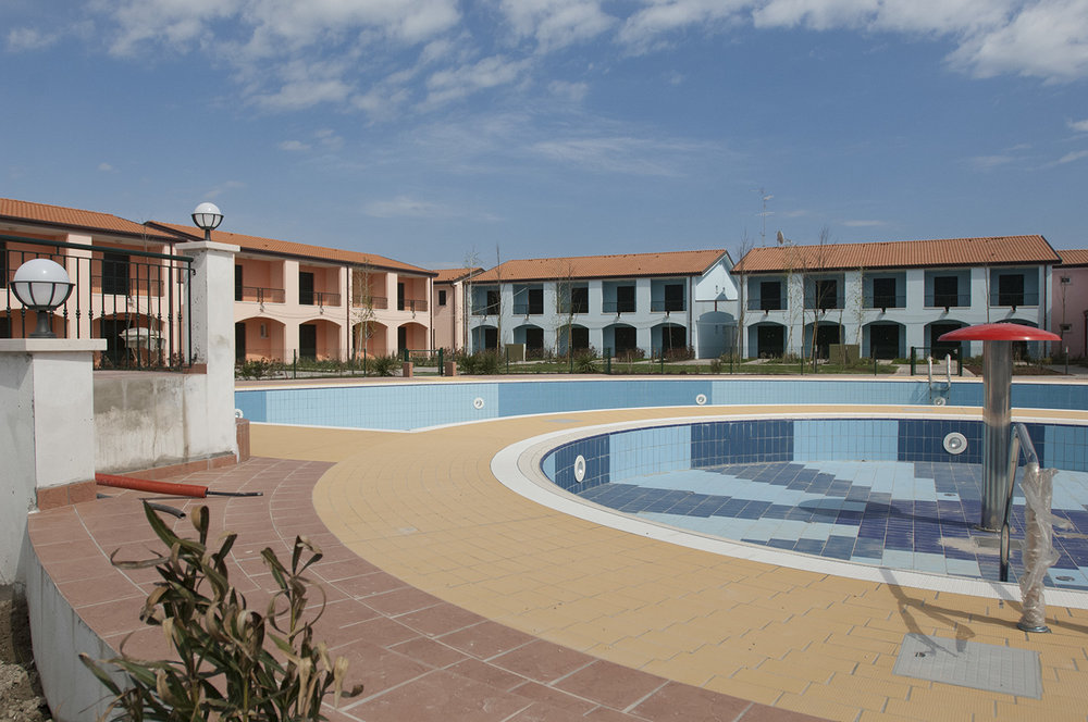 Holiday apartments in the new extension to Porto Santa Margherita