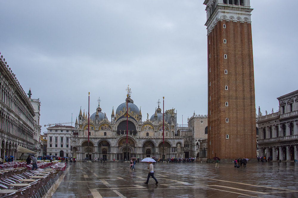 Piazza San Marco - in the rain