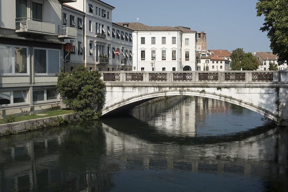 Santa Margherita bridge over the River Sile