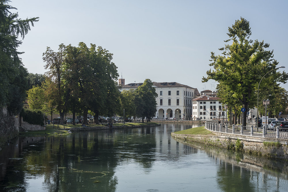 River Sile looking towards the Canale Cagnan