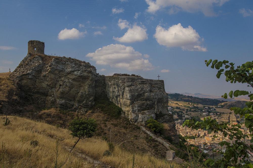 Castello Soprano overlooking Corleone