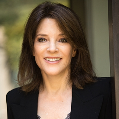Marianne Williamson - Bestselling author, founder of Sister Giant (via Skype)