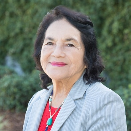 Dolores Huerta - President and founder of the Dolores Huerta Foundation, co-founder of the United Farm Workers of America