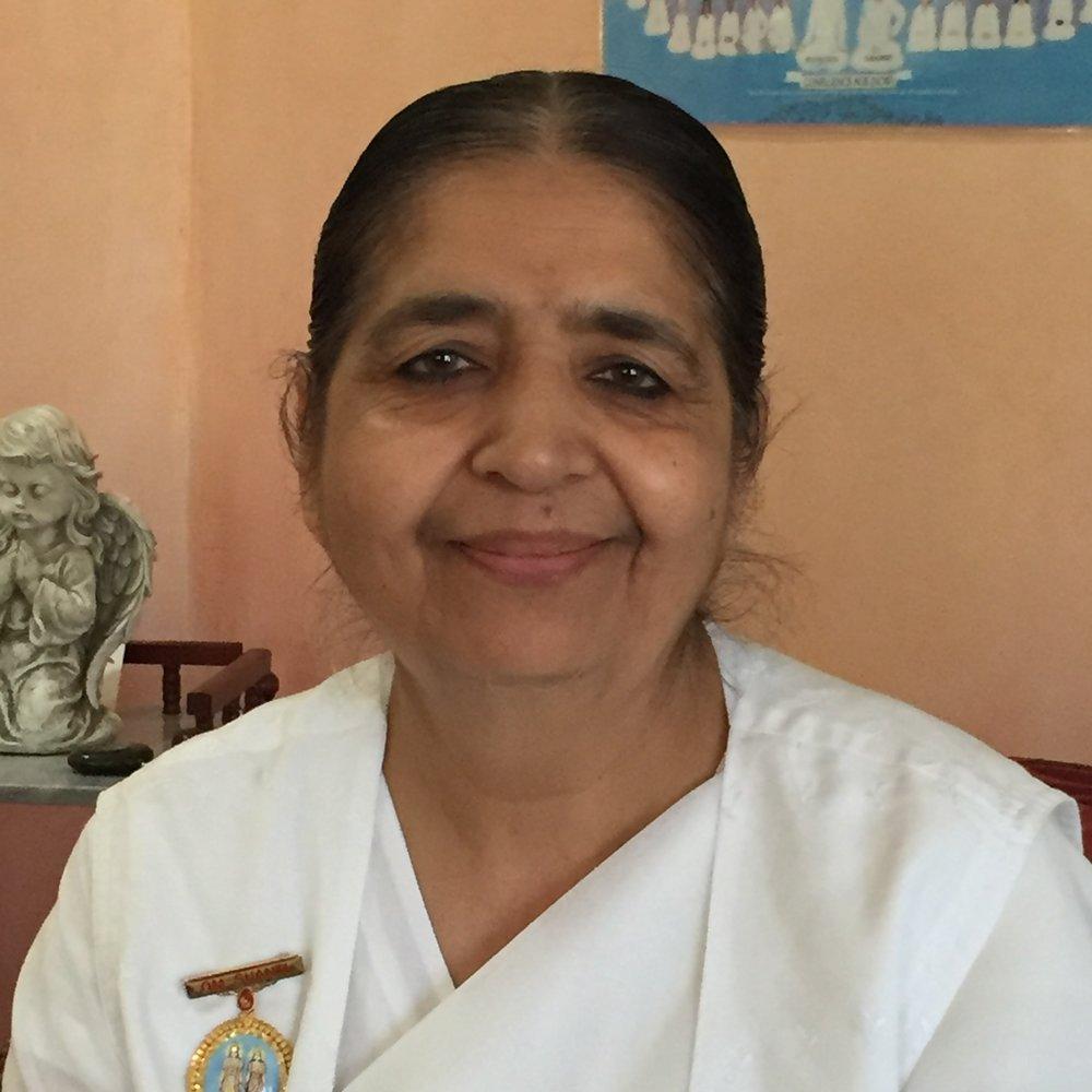 Sister Hansa - Director, Brahmakumaris Meditation Center, Sacramento Chapter