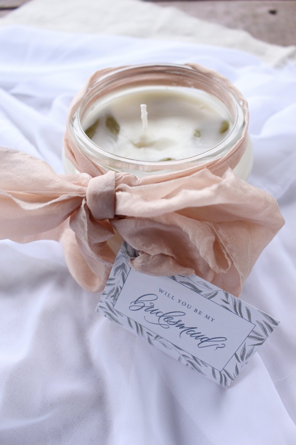 Gracefully Made DIY Candle + Tag 2