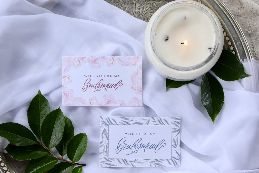 Gracefully Made Bridesmaid Tags